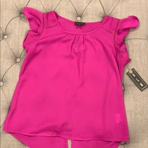 Tops - NWT OLM Butterfly top